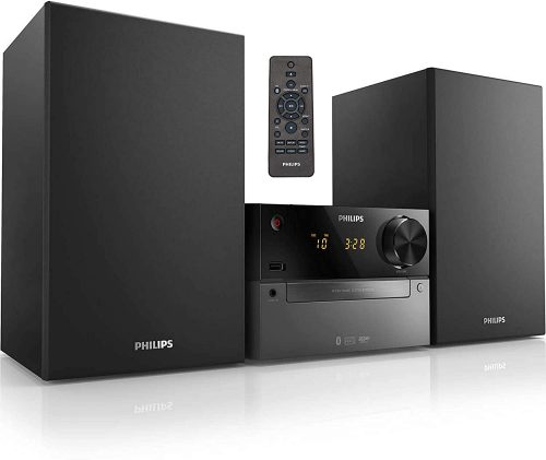 Philips Bluetooth Stereo System for Home with CD Player