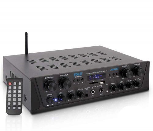 500W Karaoke Wireless Bluetooth Amplifier