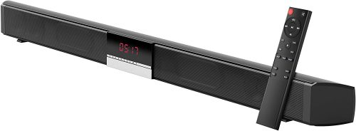 Soundbar for TV - Bluetooth Sound Bar, Channel Home Theater with Subwoofer